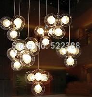 New Modern Abajur Glass Pendant Lights Lustres E Pendentes Lamps Ikea Lustres De Cristal Lustres Home Decoration Vintage Lamp
