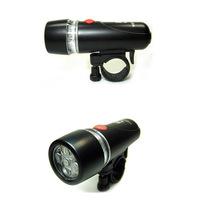 New arrival! 5 LED waterproof bicycle headlight riding flashlight bicycle light bike laser lamp