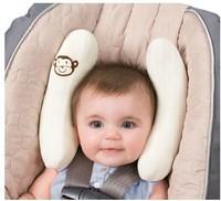 Baby car seat pillow cart neck pillow adjustable size child baby headrest
