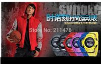 School Wind multicolor retail Digital LCD LED Backlight Date Sportwatch waterproof Rubber Unisex /kids baby Sport Wrist Watch