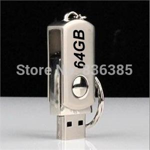USB pen dirves 64GB+usb disk 64GB,+(1pc/lot)+Metal usb flash dirves pen drives 8GB 16GB 32GB 64GB 512GB(China (Mainland))
