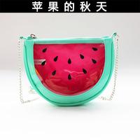 2014 hm messenger bag transparent small watermelon bags fashion women's handbag child bag parent-child bag cattle