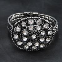 Wholesale jewelry Bangle Fashion Antique Gothic Bangle Fashion unique Items Women Bracelet Bangles Gypsy Indian Bracelet