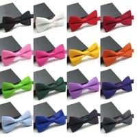 New 2014 Men's Fashion Tuxedo Classic Solid Color Adjustable Wedding Party Bowtie Bow Tie