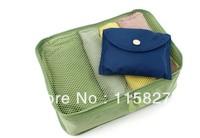 Free shipping!2pc/lotTravel foldable Bag Waterproof Clothes storage Bag outdoor Storage Bag Organizer Bag Large