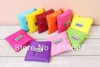Free Shipping!10pcs/lot BAGGU Shopping bag Many colors available Eco-friendly reusable folding handle Bag lady shopping bag
