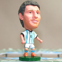 Free shipping New Argentine star Lionel Messi Lionel Messi doll model