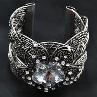 Wholesale Vintage Jewelry 2014 New Arrival Europe Rhinestone Retro Bangle Vintage Jewelry Luxury Women Indian Bracelet