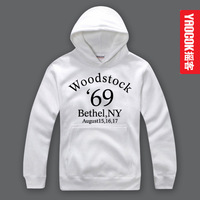 YAOCOK personality Pure cotton hooded hoodie Woodstock