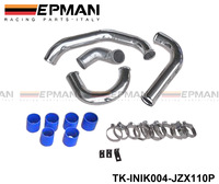 Tansky - TURBO INTERCOOLER PIPE KIT FOR TOYOTA CHASER JZX110 1JZ-GTE 2.5L TURBO TK-INIK004-JZX110P