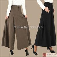 women's pants 2014 Studio pants FASHION Women loose pant FREE SHIPPING drop crotch dress pants