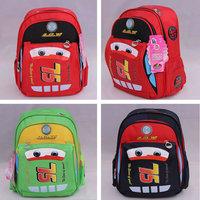 Bebe Infantil Baby Girls Boys Kids Children Student School Bag Bags Backpacks Knapsack Mochila Bolsas Satchels Cars McQueen