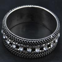 Wholesale Bangle jewelry New Bangle Unique Items African Gothic Design Fashion Bijoux Simple Design Women Indian Bracelet