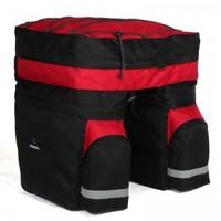 Bicycle pack package ride stacking shelf bag rain cover bicycle luggage waterproof