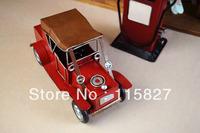 FREE SHIPPING!Handmade Vintage Style Car Metal Classic Car Model Hummer Car Childhood Memory Metal Craft Creative Gift