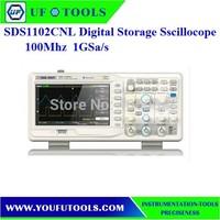 "SIGLENT SDS1102CNL Digital Oscilloscope 100MHz 2Ch 1GS/s USB 7"" TFT LCD"