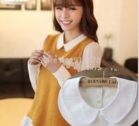 fashion shirt false collar necklace kawaii baby fake collar fashion costume accessory FC154 white black