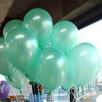 NEO 10 Inch Tiffany Green Party Balloons for Party Decoration 100 Pcs/lot