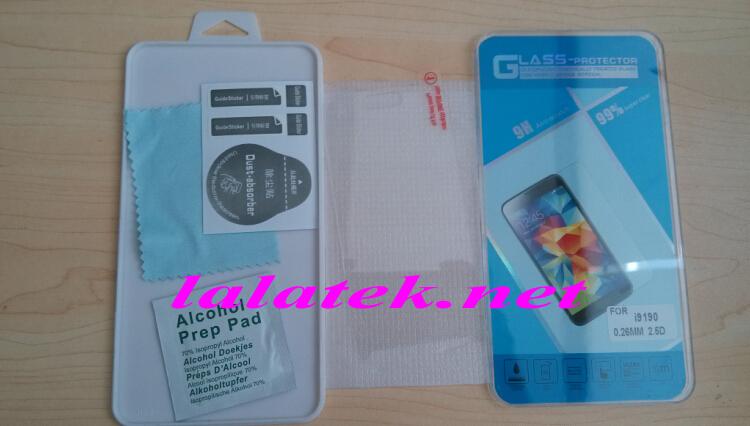 Защитная пленка для мобильных телефонов 2.5d 0.26 Samsung Galaxy S4 i9190 20pcs/lot защитная пленка luxcase для samsung galaxy s4 mini