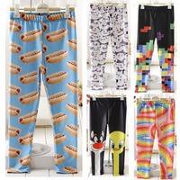New  fashion girls pants legging  a lot 5pcs  fantasia infantil children's clothing kids winter trousers & leggings wholesale
