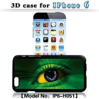 for Apple iphone 6 6G snap-on 3D blinking eye hard plastic back phone case for iphone 6 6G
