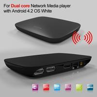 Dual Core Android 4.2 Media Player TV Box Internet Streamer XBMC Youtube 1GB DDR3 RAM 4GB Nandflash
