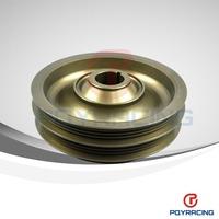 Racing Light Weight Aluminum Crankshaft Pulley For 99-00 Civic Si 94-01 Integra