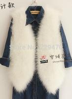 Women faux fur vest Short casaco de inverno feminina NOT REAL colete de pele de coelho HOT SELL colete pele women pele