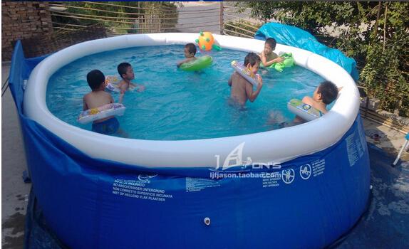 Super grande família piscina formando adulto borboleta piscina inflável crianças bebê(China (Mainland))
