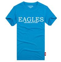 YAOCOK Shake EAGLES cotton lovers rock t-shirt men's and women's T-shirt