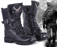 2014 new brand men winter motorcycle martin boots fashion army military desert tactical combat warm snow boots size 38-43