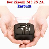 new Earphone 2 II Headphone Headset Earbuds with Remote & Mic For Xiaomi M3 MI2 MI2S MI2A Mi1S M1 2nd Piston