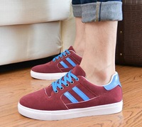 2014 Spring men fashion trend Breathable Sneakers canvas shoes male casual shoes men's low board shoes male autumn Flat KL1017