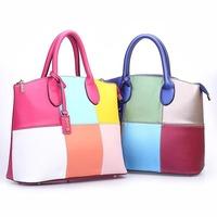 2014 new Fashion Brand Women Handbag PU Leather Luxury Bag ladies Shoulder Retro Messenger Bags totes colors