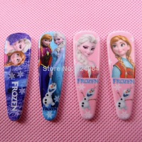Frozen Hair Clip Princess Elsa Anna Olaf Cartoon Headware Clip Children's HairClips Christmas Gift