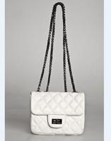 Hm 2014 cattle plaid sewing thread small one shoulder cross-body women's handbag mini bag