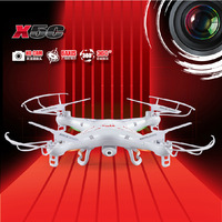 Free shipping SYMA X5C 100% Original 2.4G 4CH 6-Axis Remote Control RC Helicopter Quadcopter Toys Drone Ar.Drone With HD Camera