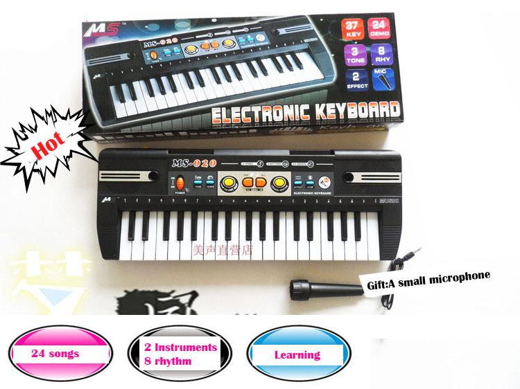37 key multi-function electronic organ toys for children Mini keyboard Musical Instruments free shipping(China (Mainland))