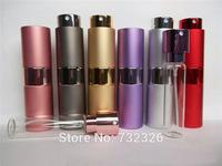 New Style Travel Refillable Perfume Spray Bottles 15ML Mini Perfume Atomizer with DHL Free Shipping