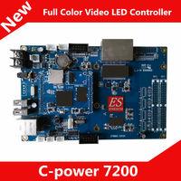 C-Power7200 Asynchronous video LED controller / memory card / Main Board Control Range 640 x 480 pixels