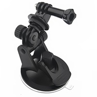 Free Shipping ST-51 Car Suction Cup Adapter Window Glass Camera Tripod Mount 7CM Diameter Base Mount f Gopro Hero 2 3