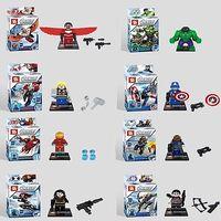 Super hero series mini figures ultimate Assembly building blocks toys for kids