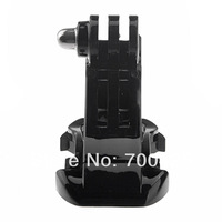 Free Shipping New 2pcs J-Hook Buckle Vertical Surface Mount Adapter for GoPro Hero 1/2/3 Sport Camera Accessories Wholesale