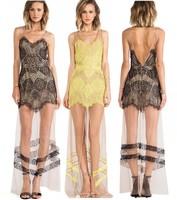 новые летние сексуальные женщины тонкие лямки, открытые спинки щели пляж хиппи Бохо панк-повседневные платья макси длинные азиатские размер