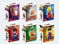 Dragon Ball Z Super Saiyan 6 mini figures Dragonball turtle fairy Assembly building blocks toys for kids