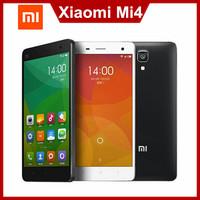 """Xiaomi Mi4 Quad Core Xiaomi M4 Mi4s Mobile Phone 5"""" Qualcomm Snapdragon 801 1920X1080P JDI 3GB RAM 16GB 64GB ROM 8MP 13MP IR GPS"""