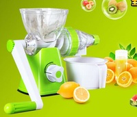 free shipping brand quality juicer,Hand juicer, manual operation, versatile mini color box packing