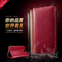 100pcs/ lot Magnetic Flip Leather Hard Skin Pouch Wallet Phone Case Cover For samsung Galaxy Note3 /N9000 mobile cover