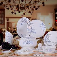 58 dishes bone china dinnerware set wedding gifts dishes set