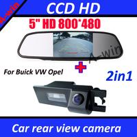 Car Monitor + car backup rear camera For Buick Regal FIAT Grande Opel Vauxhall Vectra Astra Zafira Corsa Insignia Meriva Antara